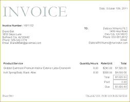Electrical Service Invoice Template Free Sales Invoice Template For