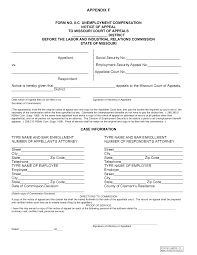 Appeal Letter For Unemployment Unemployment Insurance Hearing And