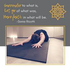 lean in let go settle into your mat with us today at noon or