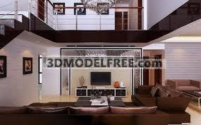 Living room 3d model free