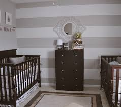 baby room ideas for twins. Another Striped Wall Baby Room Ideas For Twins