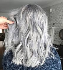 Women Dyeing Their Hair Grey Pinterest