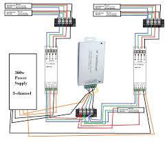 Vansky Bias Lighting Manual Wiring Led Strip Lights In Parallel Led Strip Led