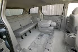 2008 toyota sienna rear seats picture