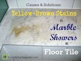 how to remove yellow stains from bathroom tiles rust stain in marble remove yellow stains from