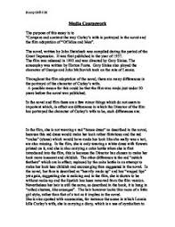 compare and contrast the way curley s wife is portrayed in the  page 1 zoom in
