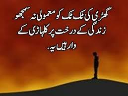 Wqt Guzr Raha Hai Zindagi Kam Ho Rahi Status Pinterest Urdu Delectable Urdu Quotes About Death