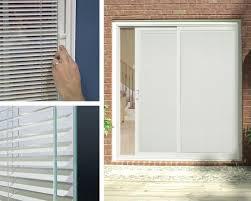 blinds between the glass option for patio doors