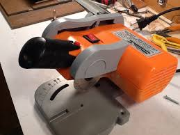harbor freight miter saw. next using a small allen wrench that will fit through the hole underneath remove blade. is to keep shaft from turning and fits harbor freight miter saw i