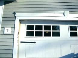garage door trim kit s window pvc carriage garage door trim kit