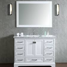 bathroom vanities 48 inch. 30 Inch White Bathroom Vanity With Marble Top 42  Vanities 48 Single Sink Bathroom Vanities Inch