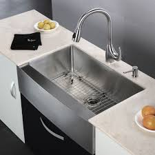 kraus khf200 33 stainless steel 32 7 8 single basin 16 gauge