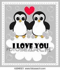 cute penguins in love drawings. Fine Love Two Cute Penguins In Love Inside Cute Penguins In Love Drawings