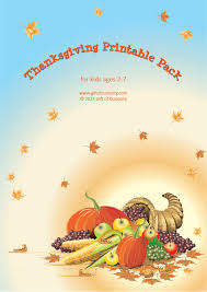Thanksgiving Printables Pack with more than 70 Thanksgiving ...