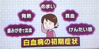 白血病 初期症状 ニキビ