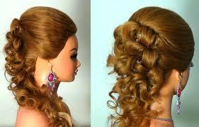 Вечерняя прическа на длинные волосы wedding prom hairstyle  Вечерняя прическа на длинные волосы wedding prom hairstyle tutorial