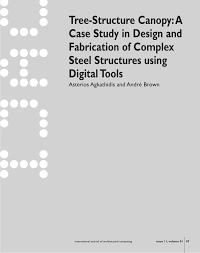 Architecture In The Digital Age Design And Manufacturing Pdf Pdf Tree Structure Canopy A Case Study In Design And
