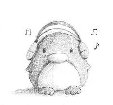 baby penguin drawing in pencil. Contemporary Baby Cute Penguin Drawing 9 Best Juilliard Penguins Images For Baby Penguin Drawing In Pencil C