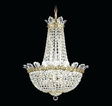 chandelier with crystal image of mini bead chains