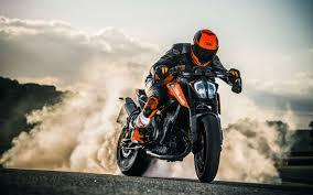 2018 latest ktm bike hd wallpapers