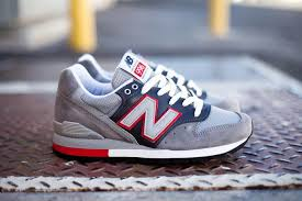 new balance men. m996er 3m classic gray/red the new balance mens shoe men a