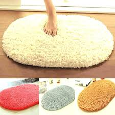 sophisticated oval bath rugs cottage bathroom ideas with traditional rug using small bathrooms country fringe oversize