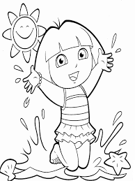 When you do that in a. Dora On The Beach Coloring Page Free Printable Coloring Pages For Kids