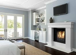 crown molding ideas for bedrooms. Contemporary Ideas Blue Bedroom With Fireplace Putting Crown Molding  And Crown Molding Ideas For Bedrooms Bob Vila