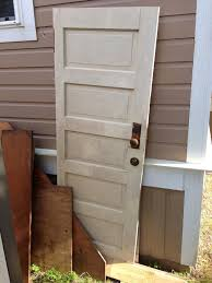 find a wonderful old panel door antique or better yet someone s