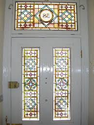 victorian stained glass from our