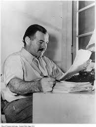 Image result for ernest hemingway pictures