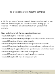 Tax Clerk Sample Resume Fascinating Top 44 Tax Consultant Resume Samples