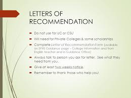 do csu need letter recommendation welcome parents class of guidance office counselors mrs lageman