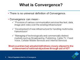 What Is Convergence Policy And Regulation In An Era Of Convergence Policy Regulation