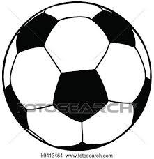 サッカーボール シルエット 分離 クリップアート切り張りイラスト絵画集