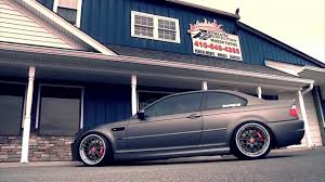 BMW M3 Coupe 435 HP | stanced | matte - YouTube