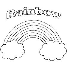 Free Printable Rainbow Coloring Pages For Kids inside Amazing and ...