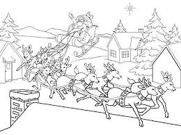 Coloring Pages Page Free And Printable Sheets Santa Claus Of