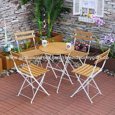 china premium steel patio bistro set folding outdoor patio furniture sets 3 piece