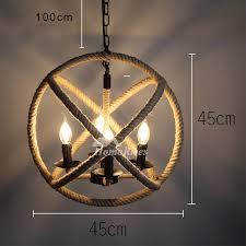 industrial cage pendant light vintage