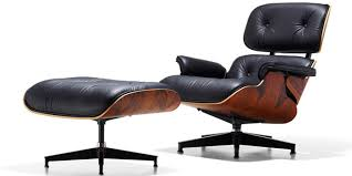 Eames Lounge Chair & Ottoman (1956).