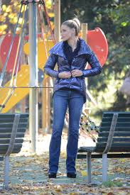 Michelle Hunziker Down Jacket Celebrities Pinterest Celebrity