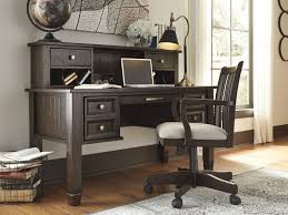Cheap home office desks Ashley Furniture Townser Jaeger Furniture Townser Home Office Desk And Hutch Home Office Chair H6362748