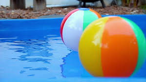 pool water with beach ball. Colorful Beach Balls Floating In Pool Slow Motion - HD Stock Video Clip Water With Ball L