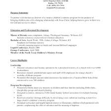 Ministry Resume Creative Pastor Resume Templates Free Download Youth Pastor Resume 58