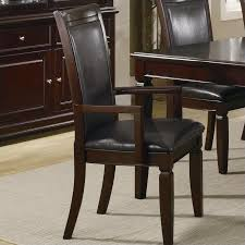 dining room chair with arms. Coaster Ramona FormalArm Dining Chair In Walnut Room With Arms