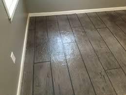 concrete look floor tiles vinyl flooring that looks like stained concrete