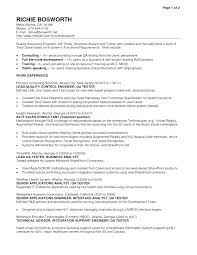 Manual Testing Resume Sample Best Of Manual Testing Resume Format For Experienced Manual Testing Resume