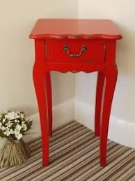 red bedside table. Delighful Red Image Is Loading LargeRedBedsideCabinet1DrawerLampTable To Red Bedside Table M