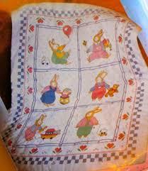 Free: Vintage Bucilla Daisy Kingdom Stamped Cross Stitch Kit ... & FREE: Vintage Bucilla Daisy Kingdom Stamped Cross Stitch Kit - Baby Quilt  Top, Embroidery Adamdwight.com